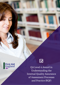 QA Level 4 Award in Understanding the Internal Quality Assurance of Assessment Processes and Practice (RQF)