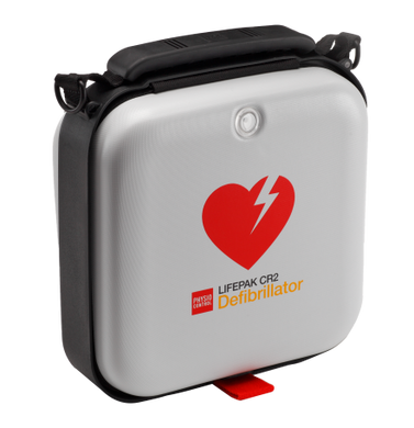 Lifepak CR2 USB Defibrillator Unit - Semi-Automatic With Wifi and Carry Case