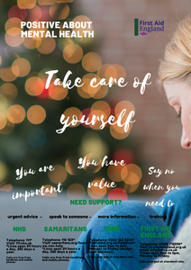 Positive About Mental Health Poster - Free E Download