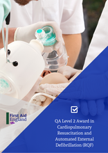 Load image into Gallery viewer, QA Level 2 Award in Cardiopulmonary Resuscitation and Automated External Defibrillation (RQF)