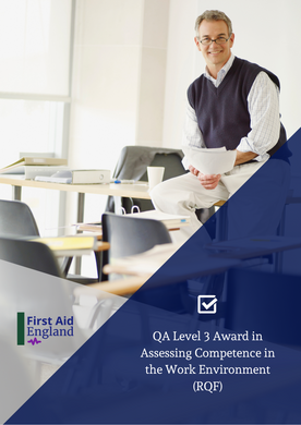 QA Level 3 Award in Assessing Competence in the Work Environment (RQF)