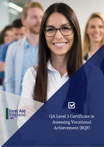 QA Level 3 Award in Assessing Vocationally Related Achievement (RQF)