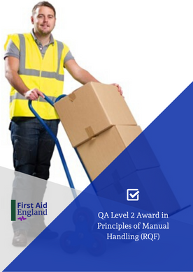 QA Level 2 Award in Principles of Manual Handling (RQF)