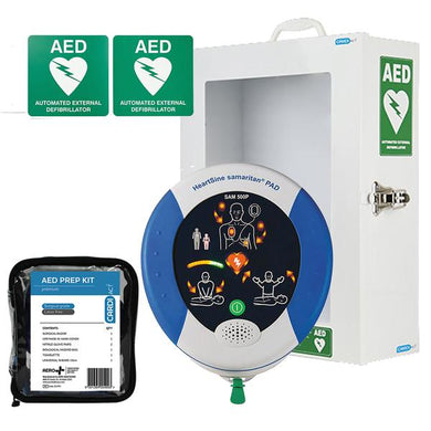 HeartSine samaritan 350P Semi Automatic AED Value Bundle Package