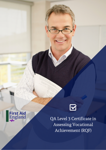 QA Level 3 Certificate in Assessing Vocational Achievement (RQF)