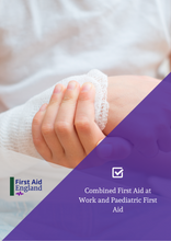 Load image into Gallery viewer, QA Combined First Aid at Work and Paediatric First Aid (RQF)