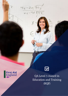 QA Level 3 Award in Education and Training (RQF)