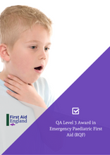 Load image into Gallery viewer, QA Level 3 First Aid Award in Emergency Paediatric (RQF)