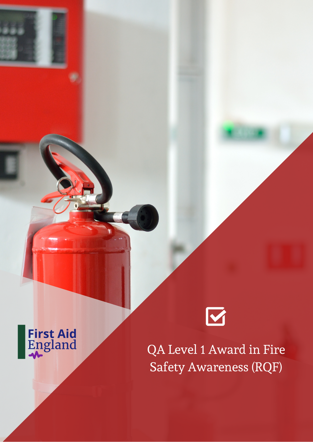 QA Level 1 Award Fire Safety Awareness (RQF)
