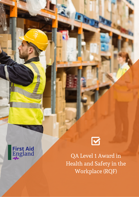 QA Level 1 Award in Health and Safety in the Workplace (RQF)