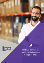 Load image into Gallery viewer, QA Level 3 Award in Health and Safety in the Workplace (RQF)