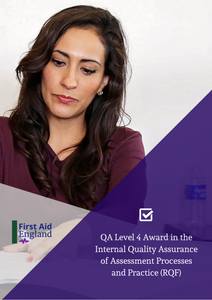 QA Level 4 Award in the Internal Quality Assurance of Assessment Processes and Practice (RQF)