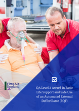 Load image into Gallery viewer, QA Level 2 Award in Basic Life Support and Safe Use of an Automated External Defibrillator (RQF)