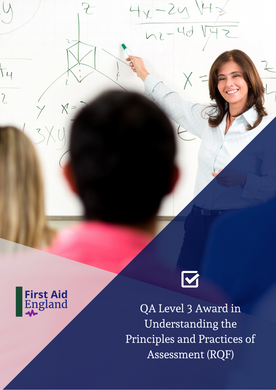 QA Level 3 Award in Understanding the Principles and Practices of Assessment (RQF)