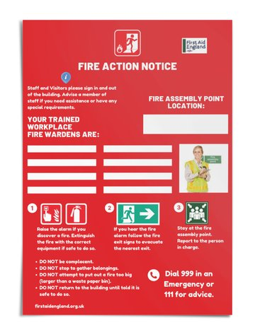 Fire Warden Safety Poster - Free E Download