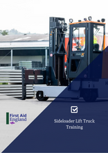 Load image into Gallery viewer, Sideloader Lift Truck Training
