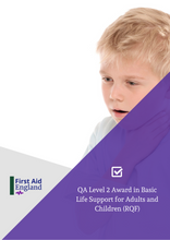 Load image into Gallery viewer, QA Level 2 Award in Basic Life Support for Adults and Children (RQF)