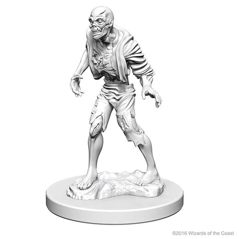 D&D - Unpainted Miniatures Zombies