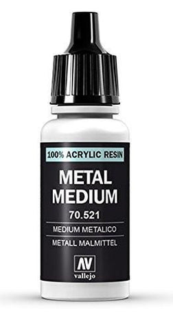 Vallejo - 521 Metal Medium 17ml