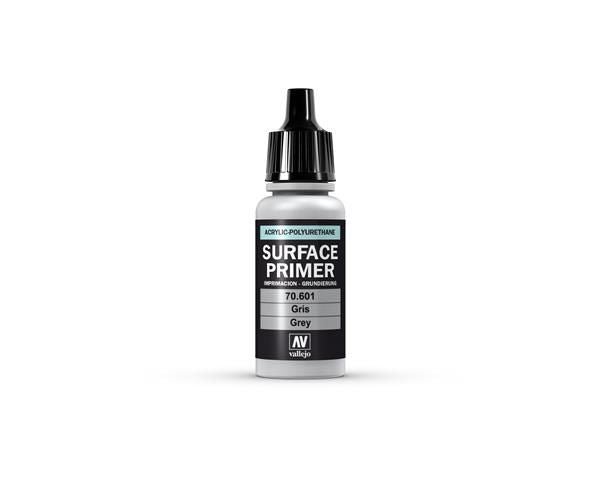 Vallejo Surface Primer - 601 Grey 17ml