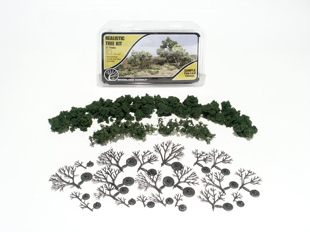 Woodland Scenics Tree Kit Small Deciduous TR1111