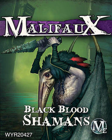 Malifaux Neverborn - Black Blood Shamans