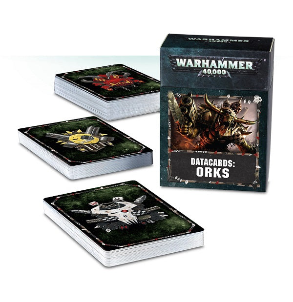 Orks Datacards 8th Edition