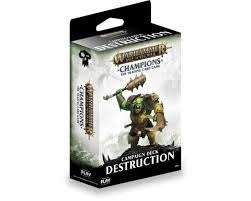 Warhammer AoS Champions TCG Campaign Deck Destruction