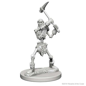 D&D - Unpainted Miniatures Skeletons