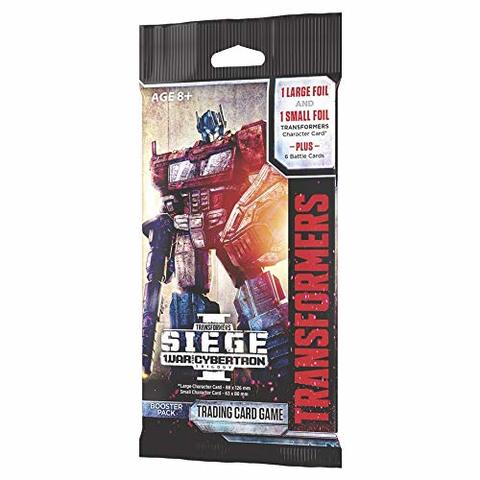 Transformers TCG War for Cybertron Siege Booster Pack