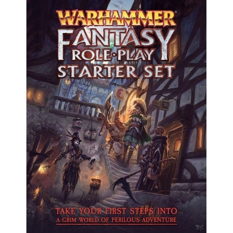 Warhammer Fantasy RPG Starter Set 4th Edition