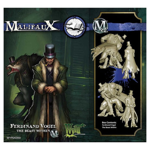 Malifaux Arcanists - Ferdinand Vogel The Beast Within