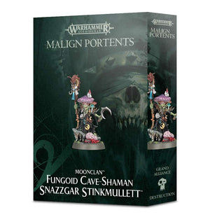Moonclan Fungoid Cave-Shaman Snazzgar Stinkmullett