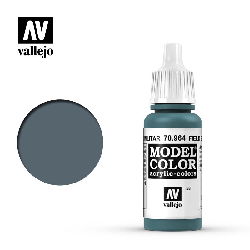 Vallejo Model Colour - 964 Field Blue 17ml