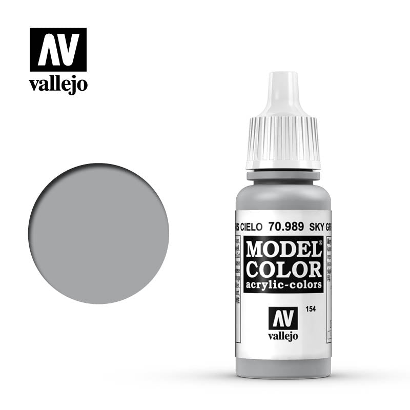 Vallejo Model Colour - 989 Sky Grey 17ml
