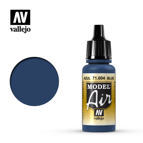 Vallejo Model Air - 004 Blue 17ml