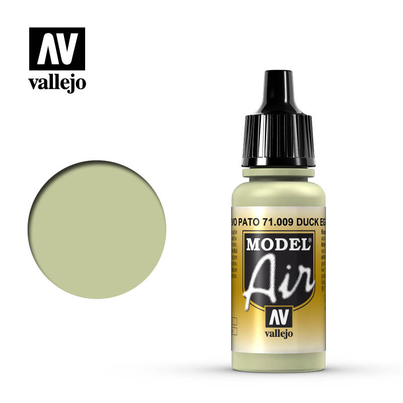 Vallejo Model Air - 009 Duck Egg Green 17ml