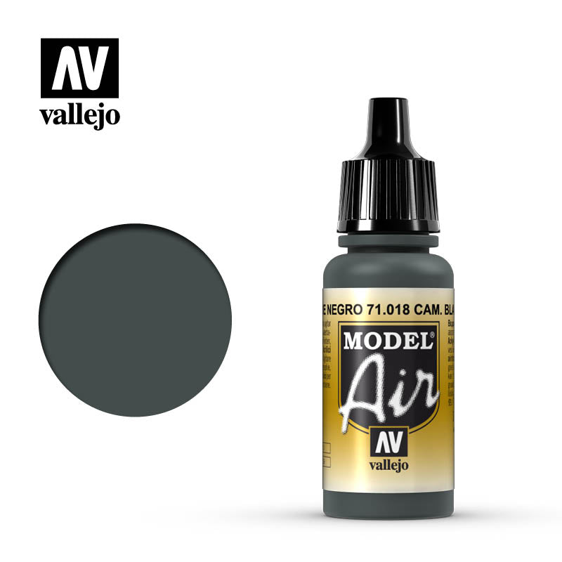 Vallejo Model Air - 018 Camouflage Black Green 17ml