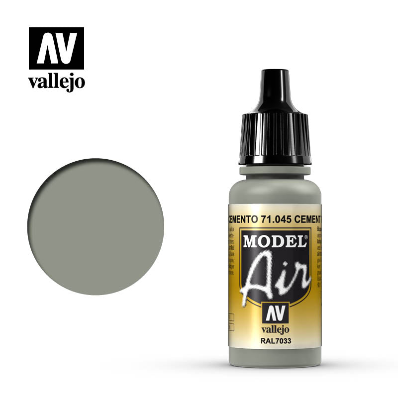 Vallejo Model Air - 045 US Light Grey 17ml