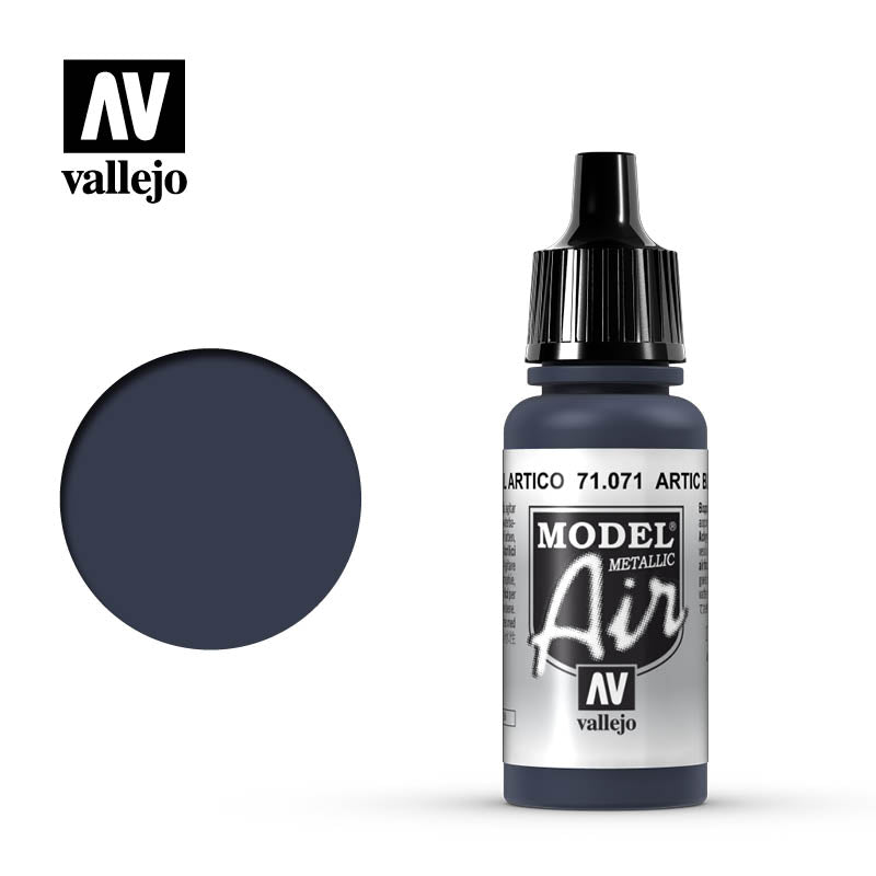 Vallejo Model Air - 071 Artic Blue Metallic 17ml