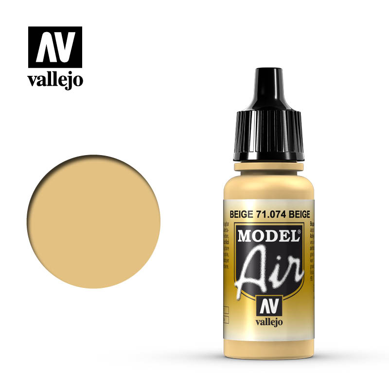 Vallejo Model Air - 074 Radome Tan 17ml
