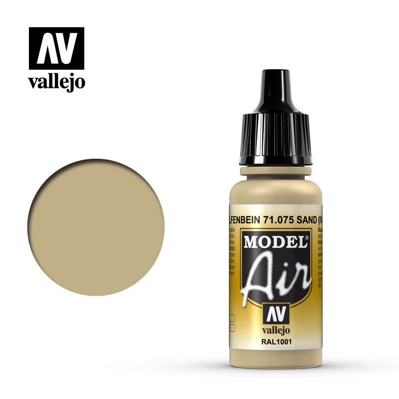 Vallejo Model Air - 075 Sand 17ml