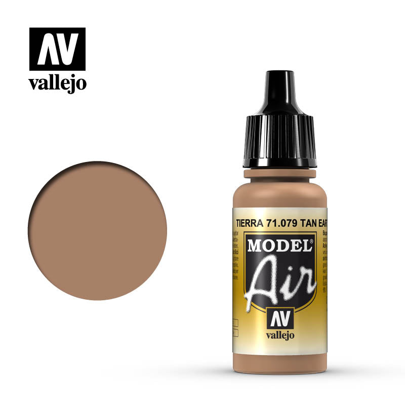 Vallejo Model Air - 079 Tan Earth 17ml
