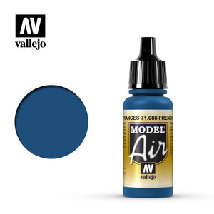 Vallejo Model Air - 088 French Blue 17ml