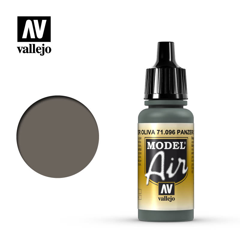 Vallejo Model Air - 096 Panzer Olive 17ml