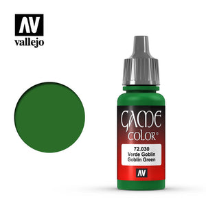 Vallejo Game Colour - 030 Goblin Green 17ml