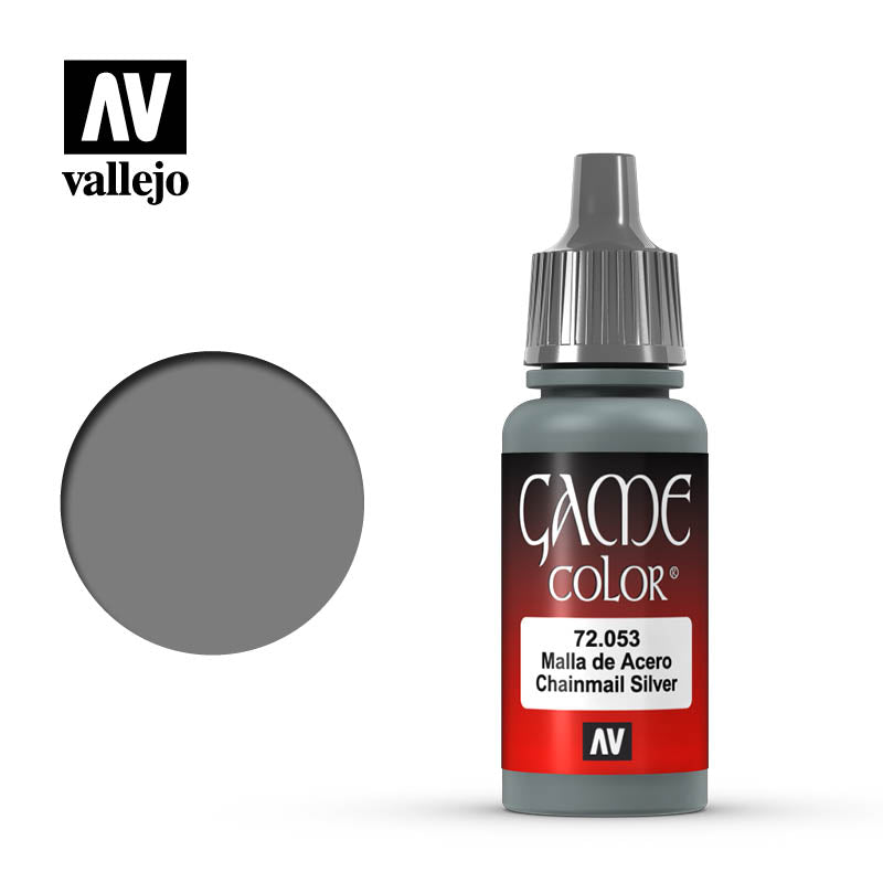 Vallejo Game Colour - 053 Chainmail Silver 17ml