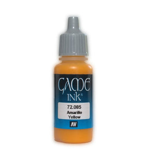 Vallejo Game Ink - 085 Yellow 17ml