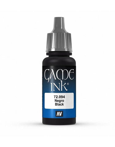 Vallejo Game Ink - 094 Black 17ml