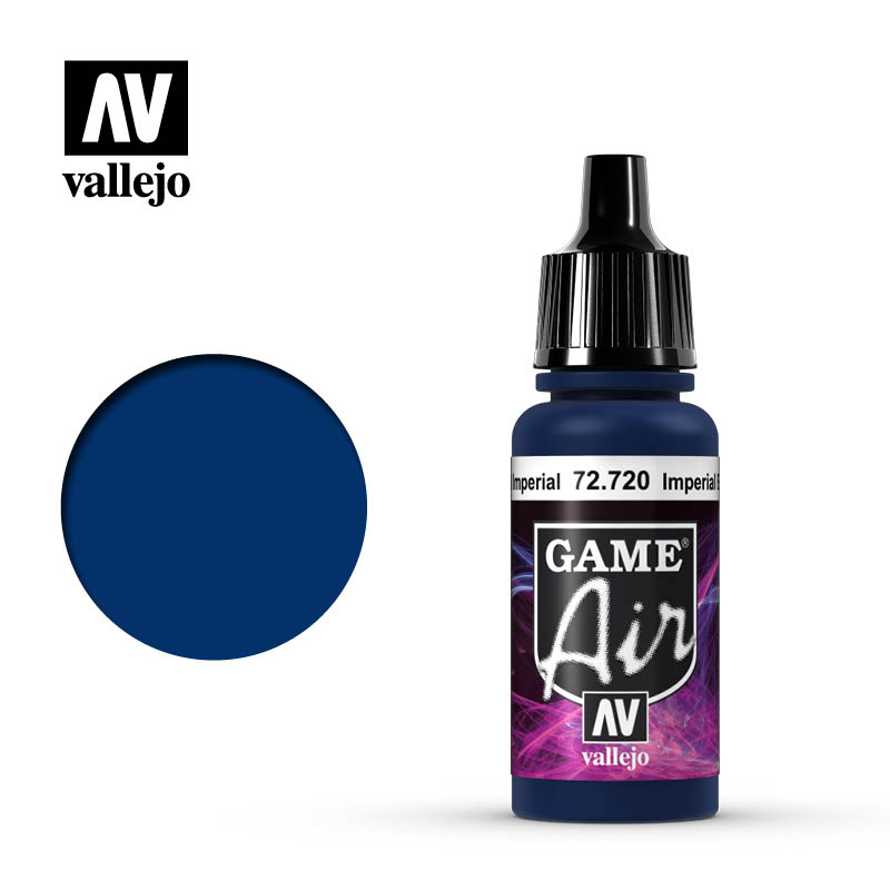 Vallejo Game Air - 720 Imperial Blue 17ml